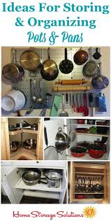 kitchen cabinet storage solutions diy pot and pan pullout organizing pots and pans ideas solutions