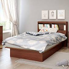 South Shore Twin Platform Bed Double Bed Bookcase Headboard