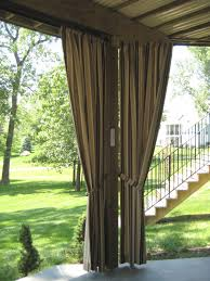 attractive outdoor curtains for patio backyard remodel suggestion