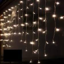 19ft xmas lights curtains fairy window lamp 256 led christmas