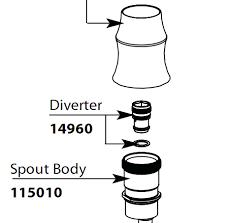 kitchen faucet diverter valve repair kitchen faucet sprayer how it works new plumbing kitchen sprayer