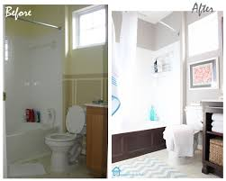 Cheap Bathroom Makeover Ideas Small Bathroom Makeovers Before And After Bathroom Re Do
