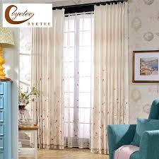 salon chambre a coucher byetee personnalisé rideaux de haute qualité coton salon chambre à