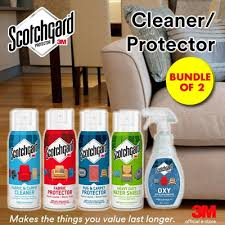 qoo10 official e store scotchgard cleaners and protectors