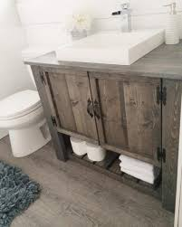 rustic bathroom storage cabinets 34 rustic bathroom vanities and cabinets for a cozy touch digsdigs