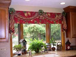 kitchen window valances photos ideas