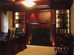 custom ceilings custommade com mahogany home office with beam ceiling