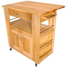 kitchen island cart butcher block catskill butcher block island cart with drop leaf