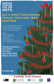 macy s tree lighting boston join the arl at the south end tree lighting animal rescue league
