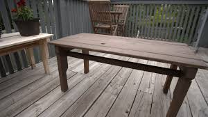 how to make a coffee table from a pallet youtube