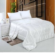 King Size White Coverlet Silk Coverlets Quilts Silk Bedding Quilts Silk Bedspreads Quilts