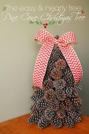how to make a pine cone christmas tree louisiana bride