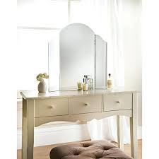 glass vanity table with mirror glass vanity table with mirror 1 copper framed gold plating dressing