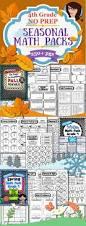 Halloween Math Crafts by 171 Best Fourth Grade Math Images On Pinterest Teaching Math