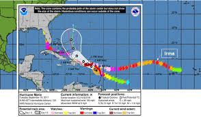 hurricane maria is following irma u0027s path u201d u2026 maria coverage picks up