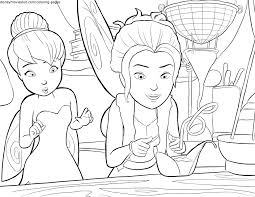 pirate fairies spying print coloring page sheet