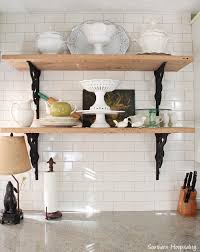 open shelving open shelves in kitchens southern hospitality