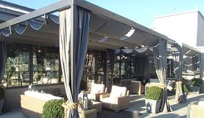 custom retractable pergola cover by awning works and patio lane