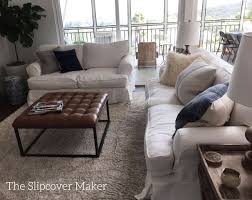 white linen sofa cover favorite white linen for sofa slipcovers the slipcover maker