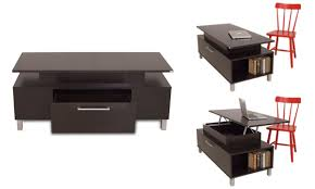 Expandable Coffee Table Space Saving Coffee Table
