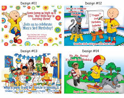 caillou party supplies images caillou party supplies