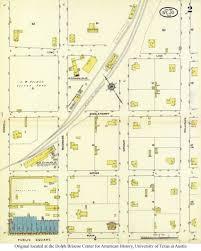 Utsa Map Sanborn Maps Of Texas Perry Castañeda Map Collection Ut