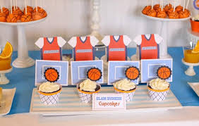 basketball party supplies basketball themed birthday party with really cool ideas via kara s
