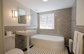 Traditional Bathroom Ideas by Traditional Bathroom With Corner Tub And Gray Tile 4023 Latest