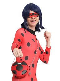 miraculous tales of ladybug and cat noir canteen crossbody bag