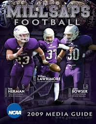 2009 millsaps college football media guide by millsaps college