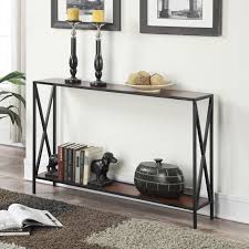 convenience concepts console table convenience concepts tucson console table hayneedle