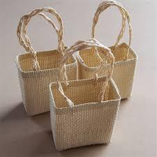 small burlap bags tote burlap bags woven straw 3 inch 12 pcs