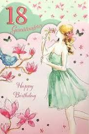 granddaughter 18 18th birthday card classy luxury card nice