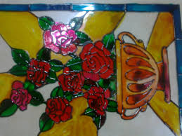 Design For Vase Painting Flower Vase Painting Aaishascreativedreams