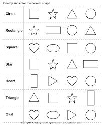 shapes worksheets for kindergarten free worksheets library