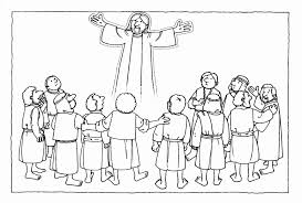 coloring page of jesus ascension ascension of jesus coloring page az coloring pages coloring page