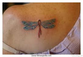 49 dragonfly tattoos for back