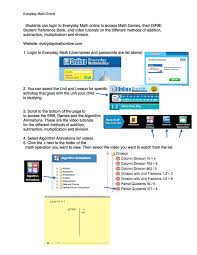 everyday math online games grade 2 advice from colleagues pacing
