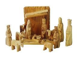 wooden nativity set olive wood nativity set removable figures 12 pcs