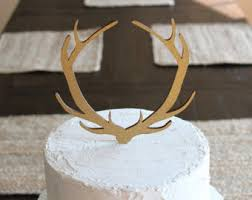 buck and doe cake topper cake toppers