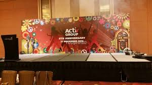 Stage Backdrops Backdrop Printing Singapore Event Stage Roll Up Backdrop