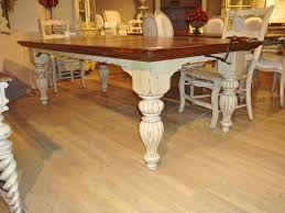 white farmhouse kitchen table distressed farmhouse dining table magnificent fresh design all 9