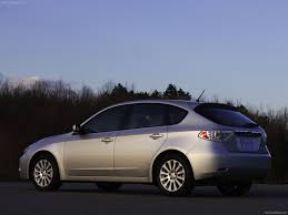 subaru hatchback white 3dtuning of subaru impreza 5 door hatchback 2007 3dtuning com