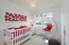 suspension chambre bébé fille design interieur chambre bebe fille fauteuil suspendu lit deco