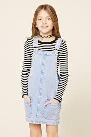 girls overall dress kids moda pinterest girls 21st and