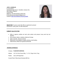 sle resume format for ojt information technology students resume sle for ojt accounting technology students 28 images
