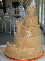 sand castle wedding cake cakecentral com