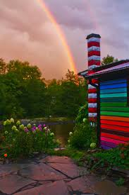 Crazy Houses by The Whimsical Rainbow House That Sweaters Built