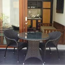 Teak Indoor Dining Table Rattan Furniture Wicker Furniture Teak Garden Furniture Outdoor