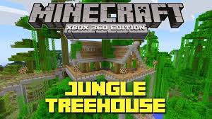 coolest house designs minecraft xbox 360 cool jungle treehouse tu12 creation youtube